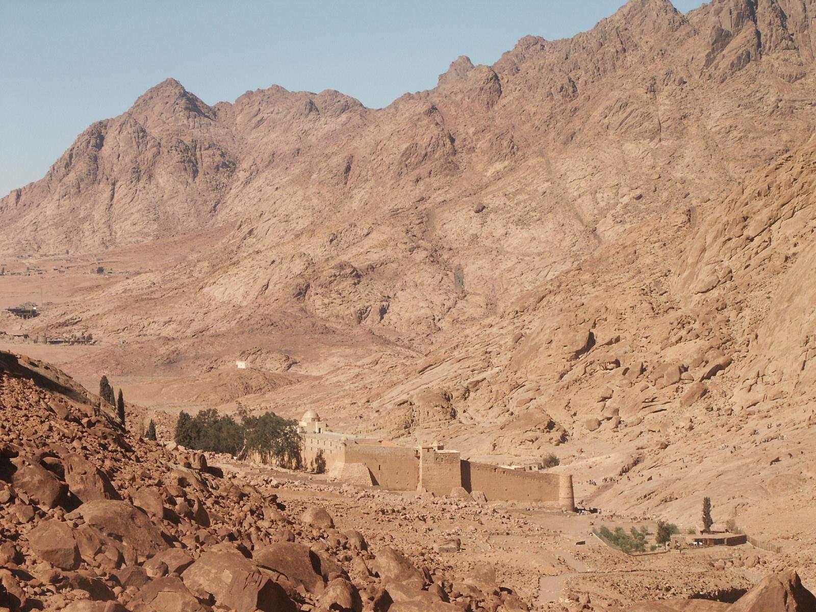 Tagesausflug zum Katharinenkloster mit Besuch von Dahab