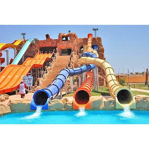 Tagesausflug im Wasserpark, Aqua Blu Park Sharm El Sheikh