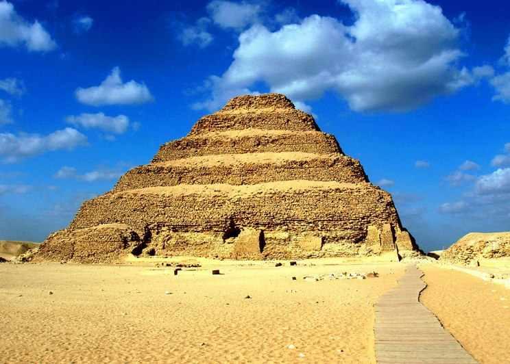Tagesausflug zur Dahschur und Memphis, Stufenpyramide von Sakkara