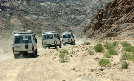 Jeep -Safari Tour von Hurghada