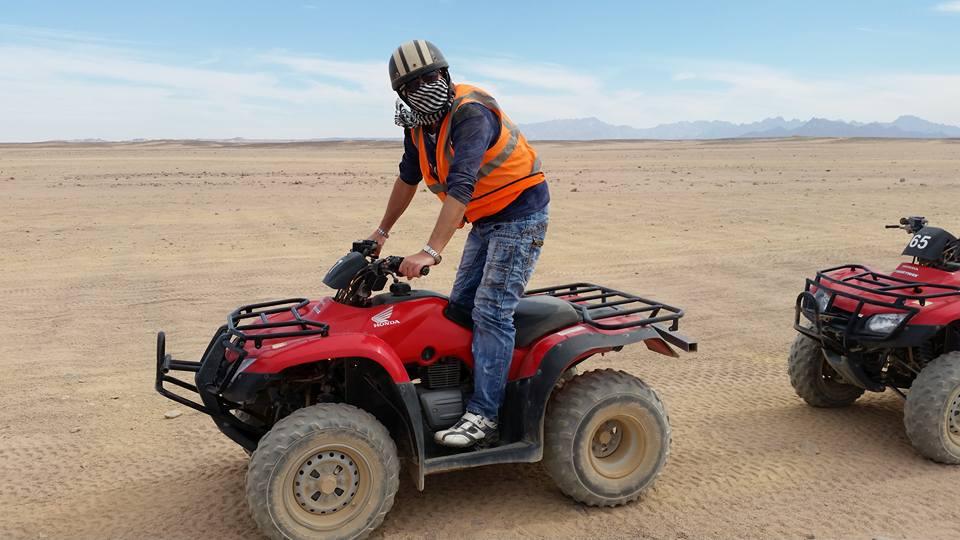Quad ATV Fahren Safari Tour  ab Hurghada