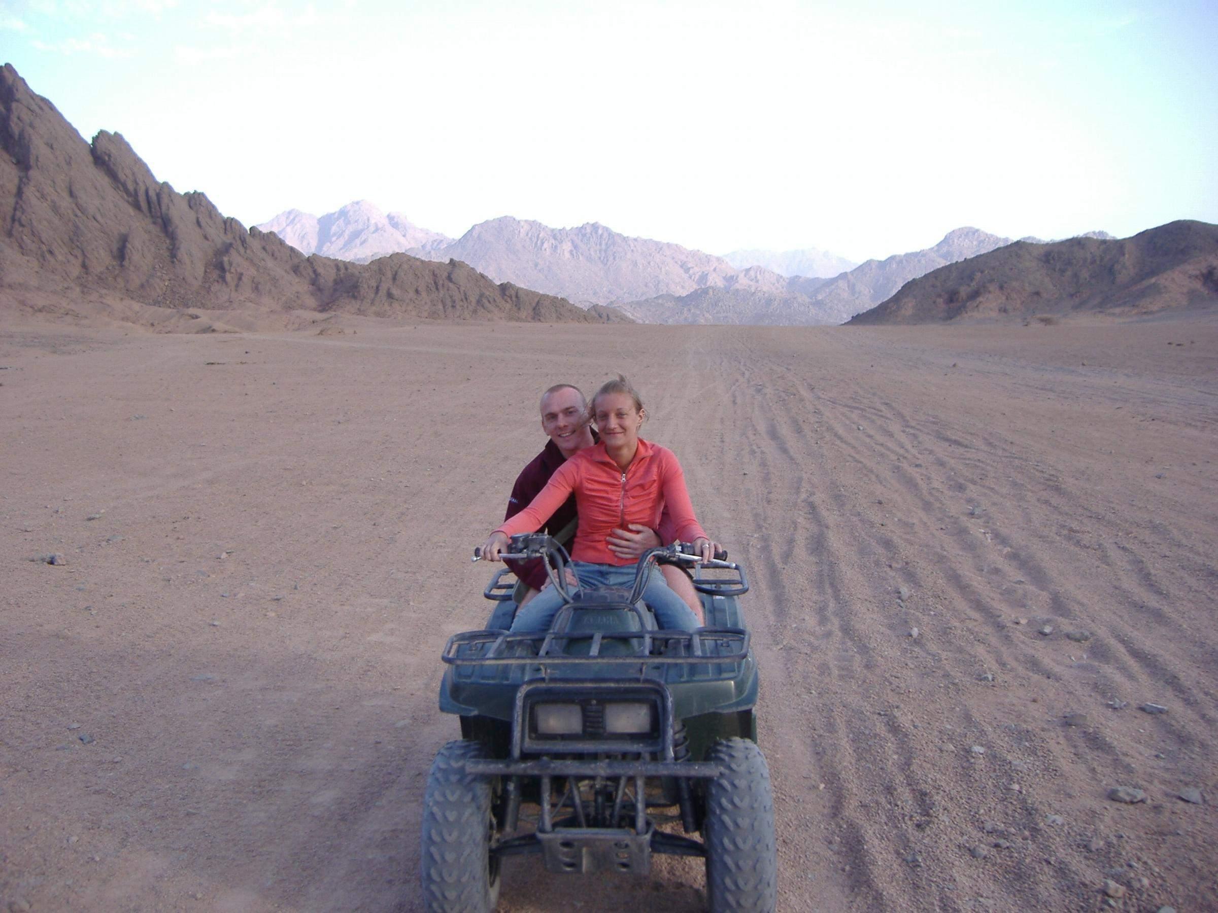 Quad ATV 4x4 Safari Tour ab Hurghada | Quad Tour Quad-Safari 3 Stunden