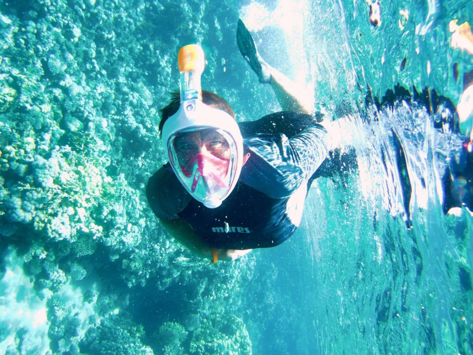 Ausflug zum Schnuppertauchen und Schnorcheln ab Hurghada
