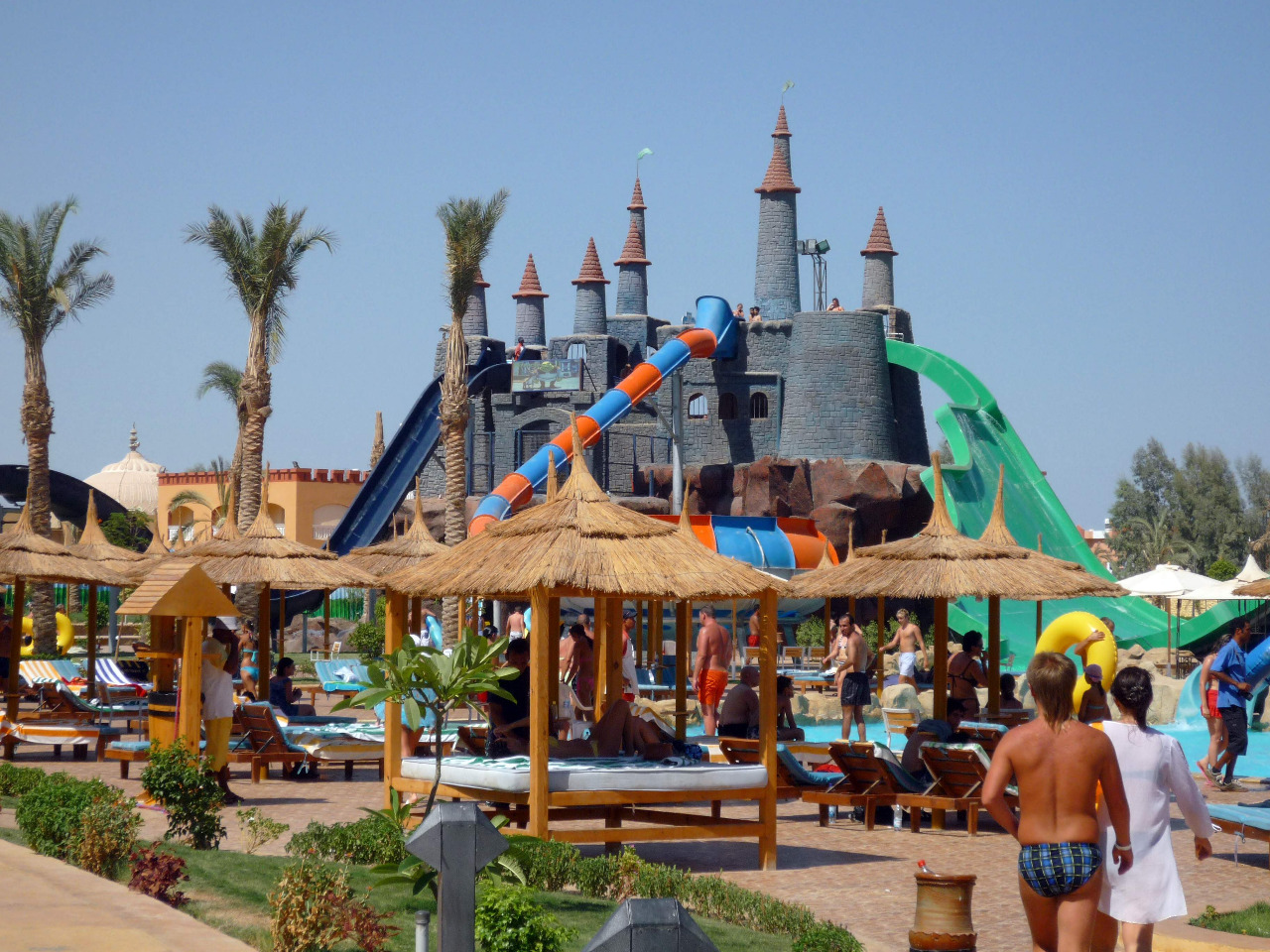Ausflug in den Jungle Aqua Park ab Hurghada