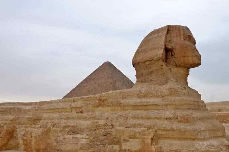 Tagesausflug mit dem Flugzeug zu den Pyramiden von Gizeh, Memphis und Sakkara ab Soma Bay/Safaga