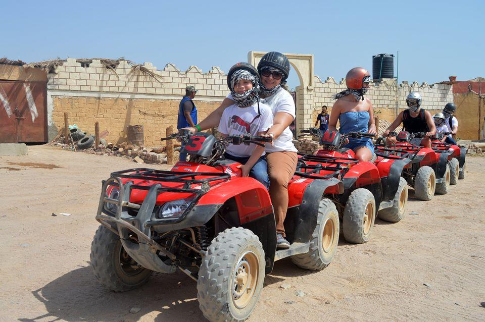 Quad ATV Tour Safari 3 Stunden ab Soma Bay/Safaga