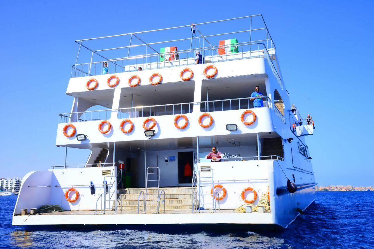 Ausflug mit dem Semi U-Boot ab El Gouna