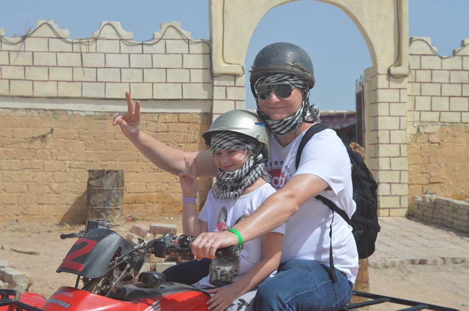 Quad fahren Tour ab Sharm El Sheikh Hafen