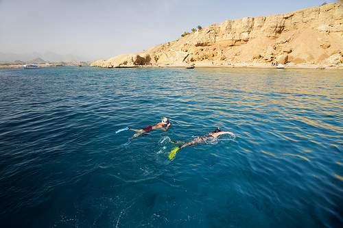 Schnorchelausflug zu Ras Mohammed mit dem Bus ab Sharm El Sheikh Hafen