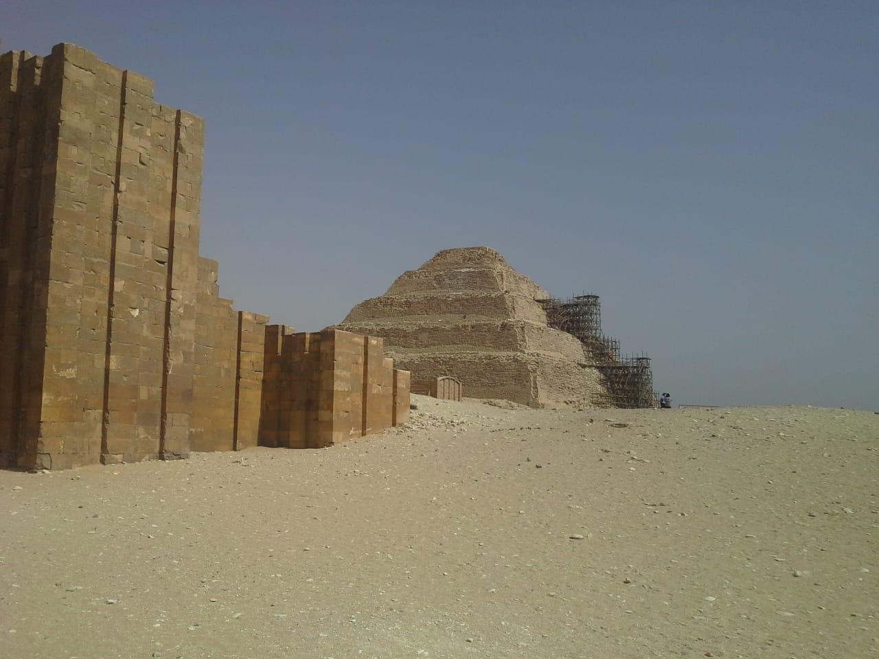Dahschur, Memphis und Stufenpyramide von Sakkara ab Port Said Hafen
