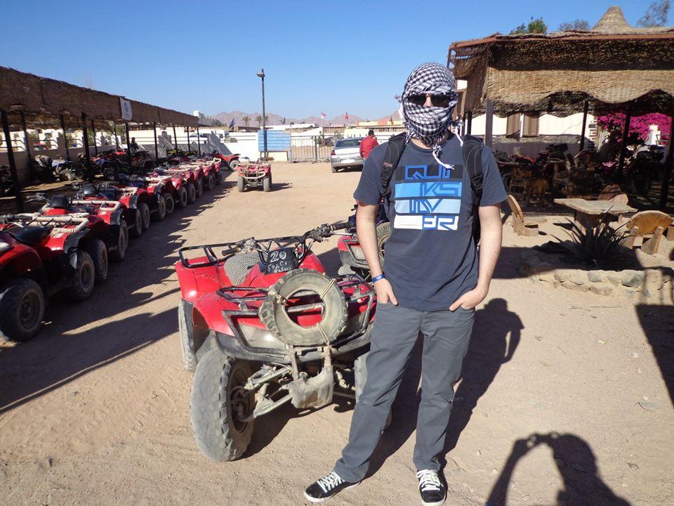 Quad ATV fahren Tour, Sharm El Sheikh Safari zum Sonnenuntergang / Sonnenaufgang