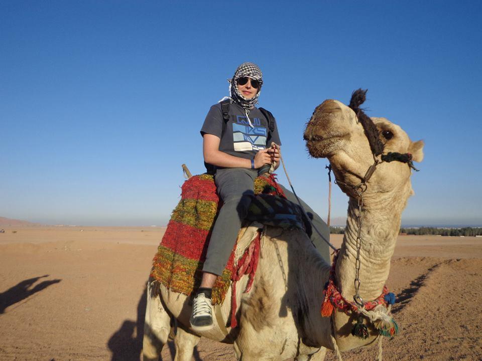 Ausflug zum Kamelreiten mit Beduinen Abendessen in Sharm El Sheikh