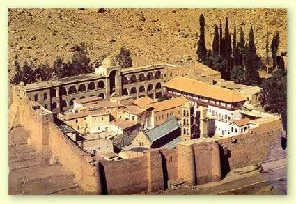 Ausflug zum Katharinenkloster & Mosesberg sinai Berg ab Sharm El-Sheikh